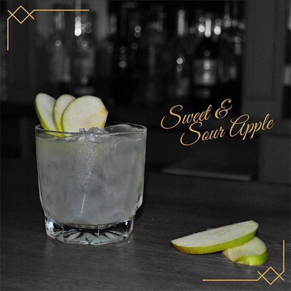 Bares en guadalajara - Cocteleria - Cocteles - Coctel SWEET & SOUR APPLE