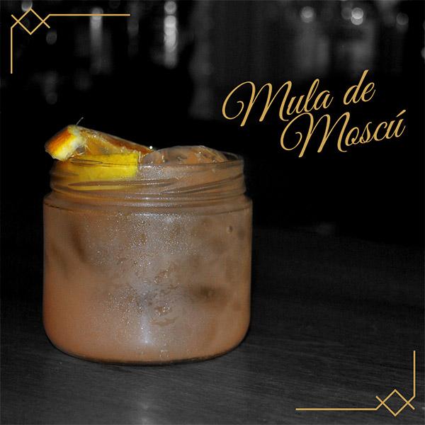 Bares en guadalajara - Cocteleria - Cocteles - Coctel LA MULA DE MOSCÚ