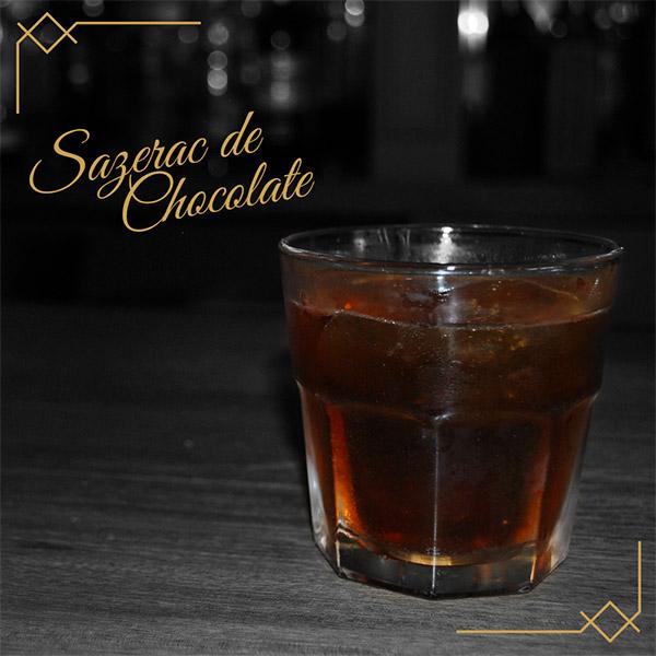Bares en guadalajara - Cocteleria - Coctel SAZERAC DE CHOCOLATE